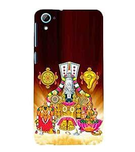 For HTC Desire 826 :: HTC Desire 826 Dual Sim laxmi, bala ji, bhagwan, christrian, god, lord, allah Designer Printed High Quality Smooth Matte Protective Mobile Case Back Pouch Cover by Paresha