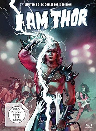 I am Thor - Limited 3 Disc Collector's Edition - Mediabook (+ DVD & Bonus-DVD) [Blu-ray] [ Preisvergleich