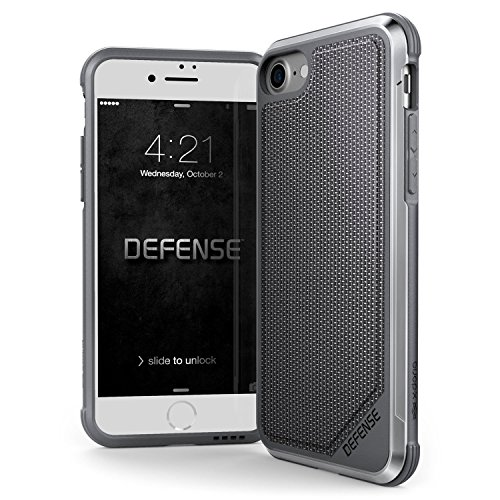 Caso del iPhone 7 & iPhone 8,X-Doria Defense Lux Series - Grado Militar...