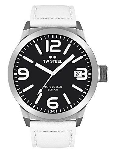 TW Steel Herren Uhr Armbanduhr Marc Coblen Edition TWMC22 Lederband