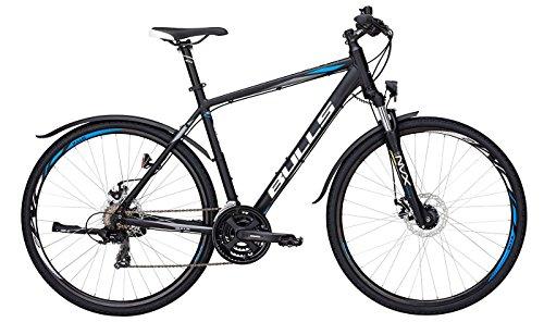Bulls Wildcross Street Trekkingrad (2017) - Herren Fahrrad 28 Zoll, 21 Gänge - schwarz