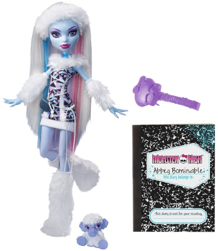 (Mattel Monster High X4627 -  Abbey Bominable, Puppe)