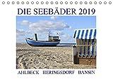Die Seebäder 2019 (Tischkalender 2019 DIN A5 quer): Impressionen der Kaiserbäder: Ahlbeck, Heringsdorf, Bansin (Monatskalender, 14 Seiten ) (CALVENDO Orte)