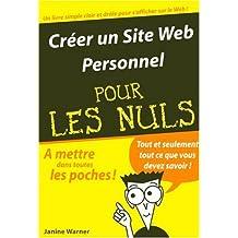 Créer un site web personnel pour les Nuls
