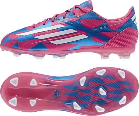 Adidas Nockenschuhe F50 Fußball Adizero Fg Kinder Junior Kinder Neonpk/runwhi/solblu, Größe Adidas:4 -