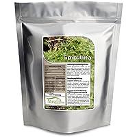 Nurafit Spirulina Pulver | 1000g / 1kg | Mit 8 essentiellen Aminosäuren und Proteinen | Algen Superfood in Rohkostqualität preisvergleich bei billige-tabletten.eu