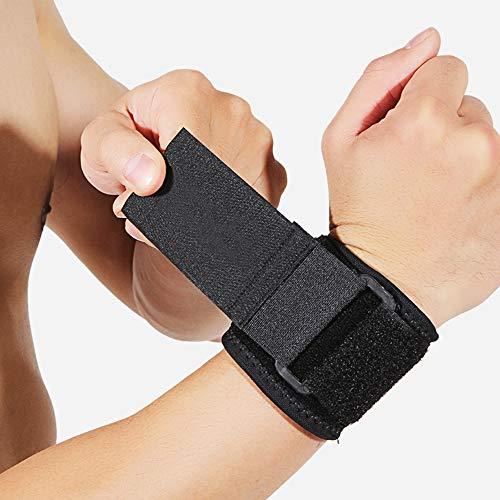 HBRT Sport-Armband, verstellbare OK Tuch, Anti-Sprain Reiten Fitness Handgelenk Schutz stabile Kompression beruhigende Schmerzen (Baseball-handgelenk-protektor)