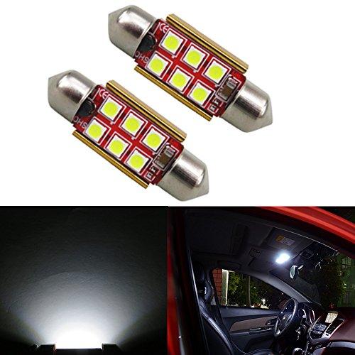 6000K pack de 4 42 mm SUMOZO Super Bright 578 6411 212-2 569 211-2 Ampoules LED Festoon C5W ampoule /à led 6-SMD 5730 Canbus Erreur 41MM 42MM Int/érieur de voiture Lumi/ères de porte d/ôme int/érieur