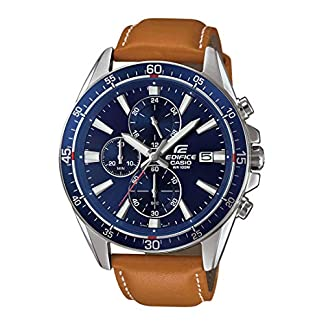 Casio Edifice Analog Blue Dial Men's Watch – EFR-546L-2AVUDF (EX250)