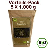 BIO Braunhirse Gemahlen | VORTEILSPACK (5 x 1.000 g) | Vom Biohof Beck | Kalt-Vermahlen | Wildform | Urhirse