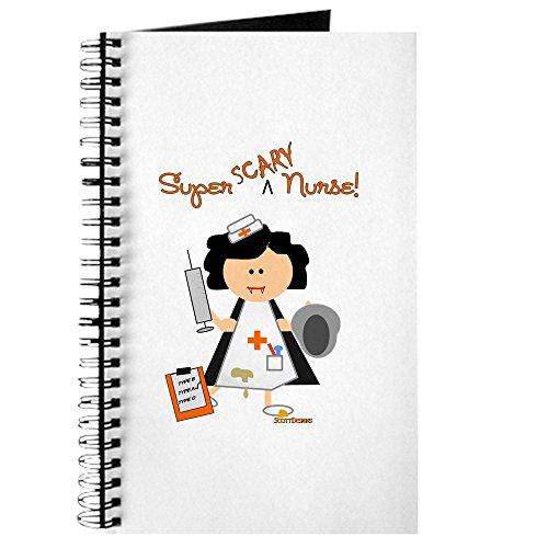oween Krankenschwester–Spiralbindung Journal Notizbuch, persönliches Tagebuch, liniert (Machen Halloween-magazin)