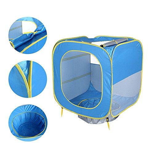 Preisvergleich Produktbild Aolvo Wasserdichtes Im Freien Automatisches Pop-up-Zelt, (MT) Strand Sun-UVzelt-Schutz Portable Cabana Anti UV 50 Baldachin Sun für Familien-Kinderbaby Im Freien Kampierendes Fischen