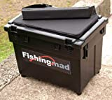Bison Fishingmad - Ensemble boîte-siège/sangle/coussin - sticker 4 motifs au choix