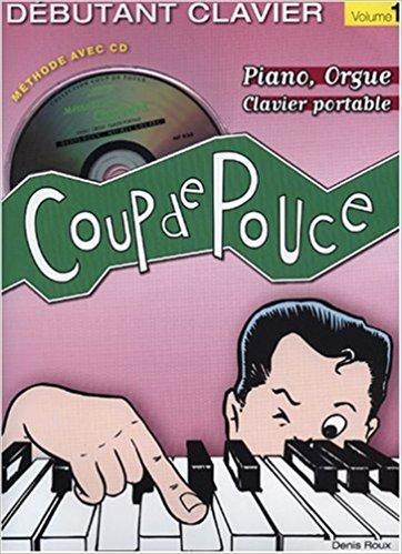 Coup de pouce clavier vol 1 + CD inclus