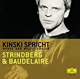Kinski Spricht Strindberg und Baudelaire - August Strindberg