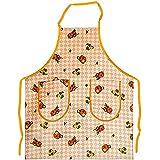tablier de cuisine pumpkins on orange tartan