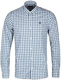 Henri Lloyd Blue Gingham Check Shirt - Kelton