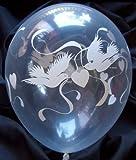 10 Ballons TAUBEN, Qualatex, 30 cm