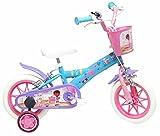 Disney Doc La Peluche Vélo Enfant Bleu avec Canne 12'