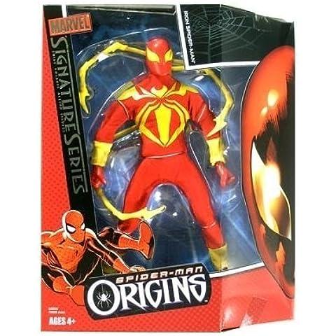 Marvel Signature Series: Iron Spider-Man Figure by Hasbro - Signature Series Spider