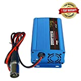 24V 5A Full Automatic Battery Charger With XLR Connector Maintains and Reconditions For