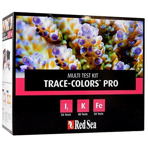 Color-test (Red Sea R21515 Coral Colors Pro Test Kit für Riffaquarien)