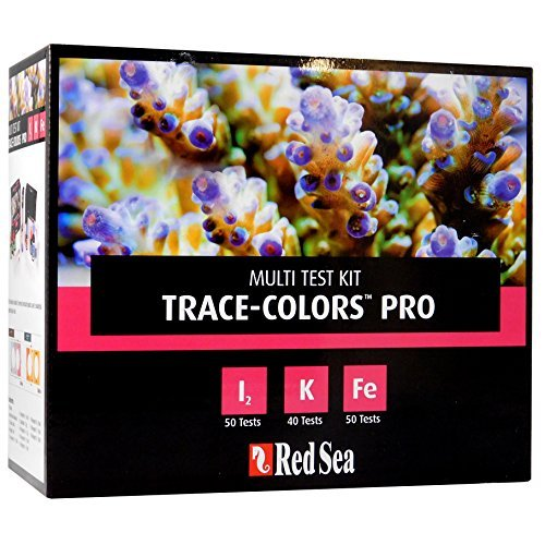 Red Sea R21515 Coral Colors Pro Test Kit für Riffaquarien