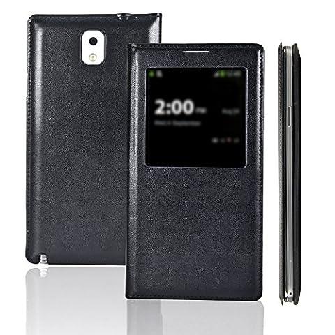 Etui luxe Galaxy Note3 III N9000 - SAVFY® - Ultra