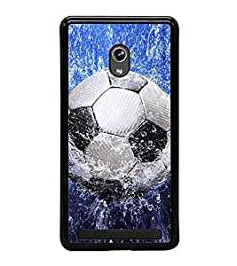 Football in Water 2D Hard Polycarbonate Designer Back Case Cover for Asus Zenfone 5 A501CG :: Asus Zenfone 5 Intel Atom Z2520 :: Asus Zenfone 5 Intel Atom Z2560