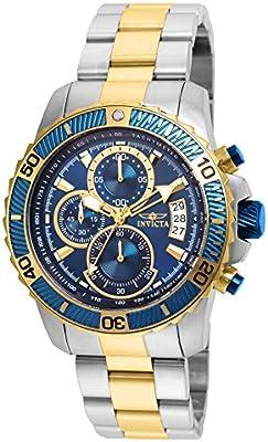 Invicta Pro Diver 22415 - Reloj de pulsera Cuarzo Hombre correa de Chapado en acero inoxidable Bicolor