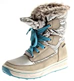 Tamaris 1-26227 Damen Winter Boots Snow-Boot Winterschuhe Duo-Tex Silber 2.te Wahl EU 42