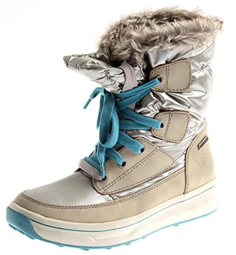 Tamaris 1-26227 Damen Winter Boots Snow-Boot Winterschuhe Duo-Tex Silber 2.te Wahl EU 42