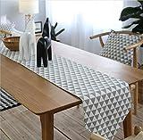 Camino de mesa Tartan Table Runner Mesa de té de algodón y lino Banco de televisión en el Home Hotel Cafe Restaurante Multi-size Decoración hogareña ( Size : 30*200cm )
