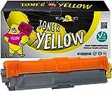 Yellow Yeti TN245Y TN246Y (2200 Seiten) Gelb Premium Toner kompatibel für Brother HL-3140CW 3150CDW 3170CDW DCP-9015CDW 9020CDW MFC-9140CDN 9330CDW 9340CDW 9332CDW 9142CDN [3 Jahre Garantie]