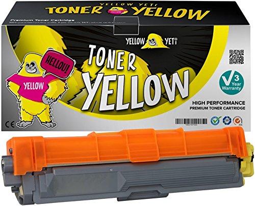 Yellow Yeti TN245Y TN246Y GIALLO 2200 pagine Toner compatibile per Brother HL-3140CW 3150CDW 3170CDW DCP-9015CDW 9020CDW MFC-9140CDN 9330CDW 9340CDW 9332CDW 9142CDN [3 Anni di Garanzia]