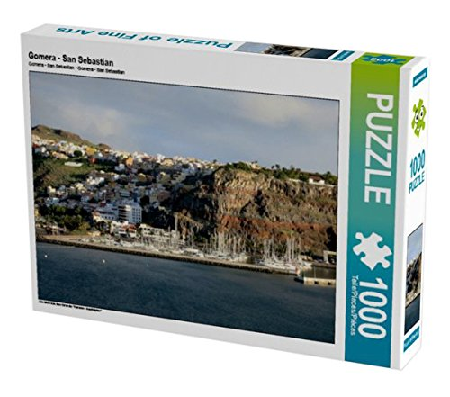 Preisvergleich Produktbild Gomera - San Sebastian 1000 Teile Puzzle Quer