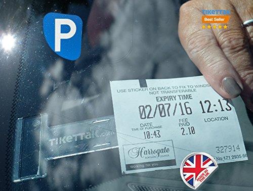 Preisvergleich Produktbild tikettakGenehmigungs- und Ticket-Autohalterung zum vermeiden von Parkstrafen (2er-Pack)