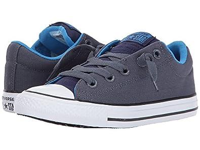 b4dca9378a9d Converse Chuck Taylor All Star Street Slip Sharkskin Midnight Indigo  658139F Junior Shoes  Amazon.co.uk  Shoes   Bags