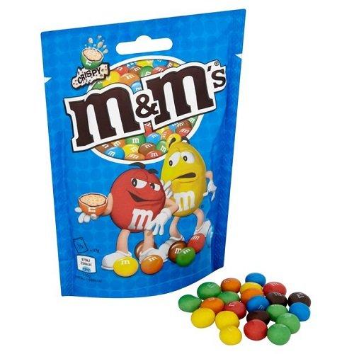 Price comparison product image M&M's Crispy,  141 g - Pack of 11