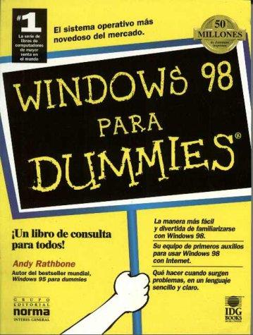 Windows 98 Para Dummies por Andy Rathbone