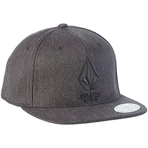 Volcom Bevel 110 Adj Hat - Gorra para hombre, color gris, talla única