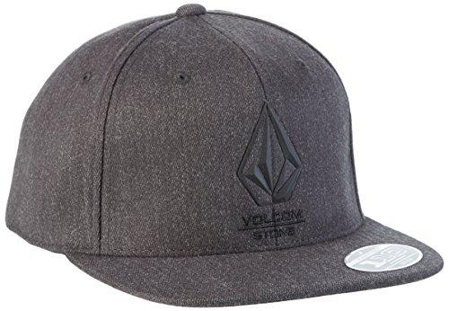 Volcom, Cappello da baseball Uomo Bevel 110ADJ Hat, d55316g1slf, Uomo, Baseballmütze Bevel 110 Adj Hat, Nero sulfureo, Taglia unica