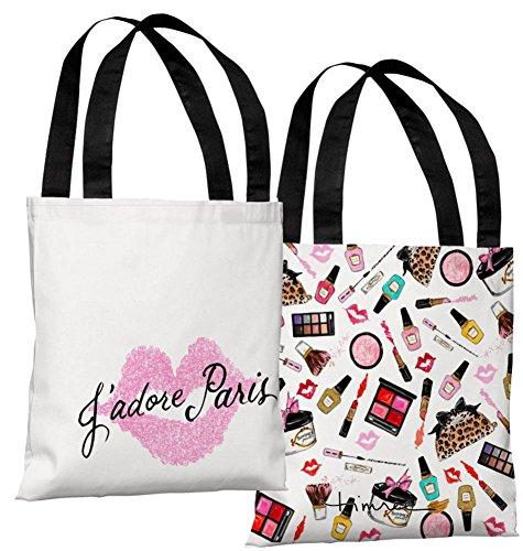 Jadore Paris Pink - Pink Tote Bag By Timree Tote Bag - 18x18
