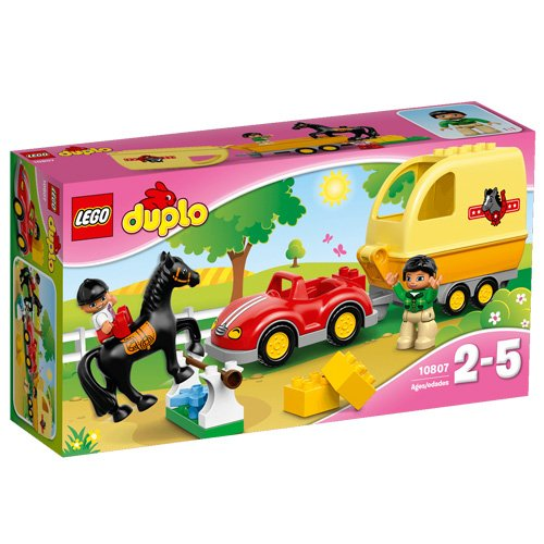 LEGO Duplo 10807 - Cavallo e Rimorchio