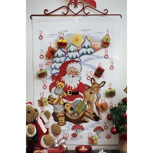 Anchor Idena Santa Rehe und trägt Adventskalender