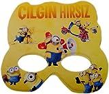 Minions Party Maske,6 Stk
