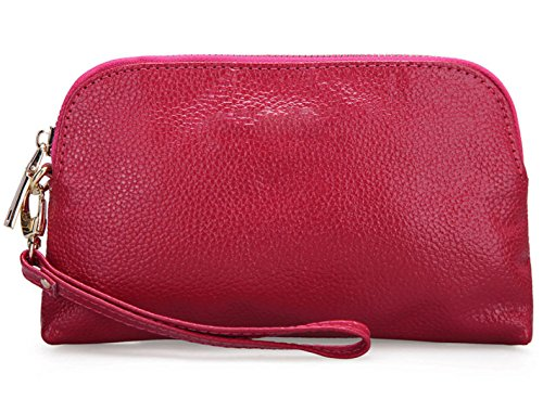 Pochette In Pelle Semplice Ms. RoseRed