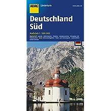 ADAC Länderkarte Süd-Deutschland 1:500.000 (ADAC Länderkarten)