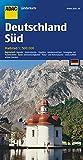 ADAC Länderkarte Süd-Deutschland 1:500.000 (ADAC Länderkarten) - ADAC Kartografie