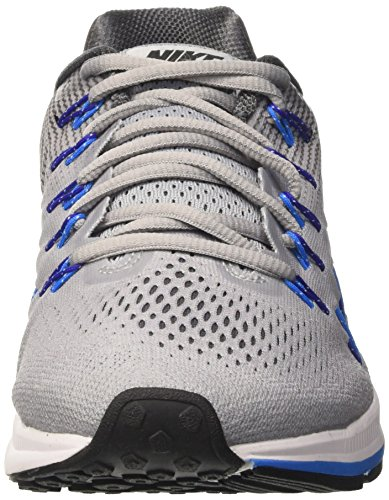 Nike Herren Air Zoom Pegasus 33 (W) Laufschuhe Gris (Wolf Grey / Black-Dark Grey)